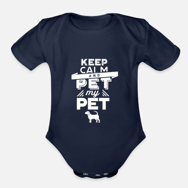 Pet Pet Pets - Organic Short-Sleeved Baby Bodysuit