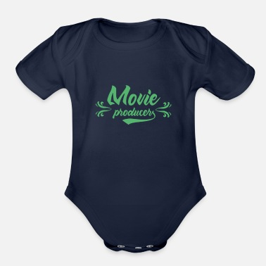 Movie Producer Movie Producer - Organic Short-Sleeved Baby Bodysuit