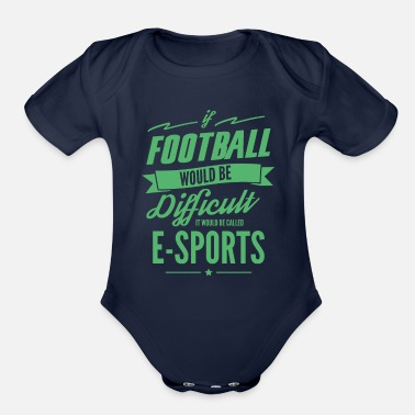 Pc PC Game - Organic Short-Sleeved Baby Bodysuit