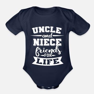 Keep Calm My Uncle is A Superhero Herren T-Shirt /& Baby Strampler Passende Onkel Baby Geschenk-Set L /& 6-12 Monate