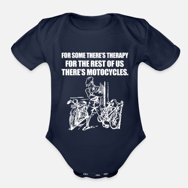 Motocycle Motocycles - Organic Short-Sleeved Baby Bodysuit