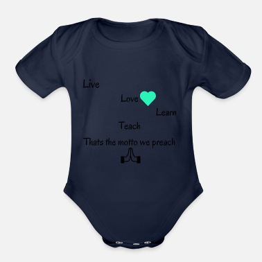 Motto Motto design - Organic Short Sleeve Baby Bodysuit