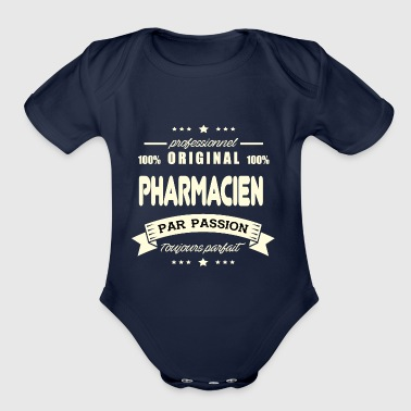 Original Pharmacist - Organic Short Sleeve Baby Bodysuit