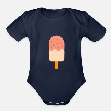 Swagg fresh and cool Ice - Organic Short Sleeve Baby Bodysuit