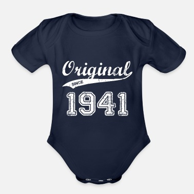 1941 1941 - Organic Short-Sleeved Baby Bodysuit