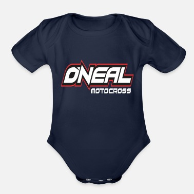 Motocross o Neal Motocross - Organic Short-Sleeved Baby Bodysuit