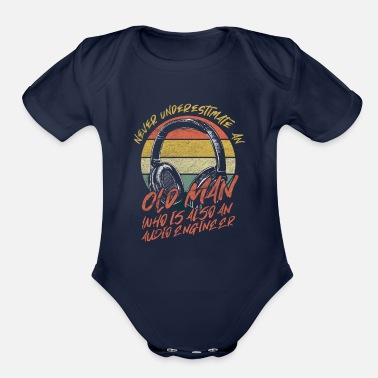 Audio Audio Engineer - Organic Short-Sleeved Baby Bodysuit