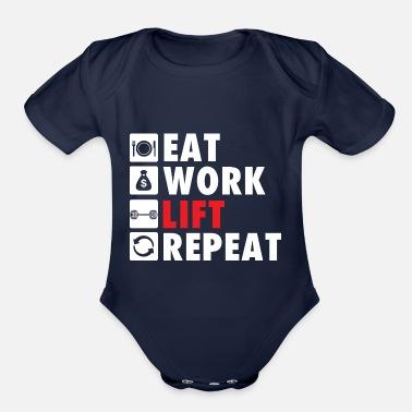 5031a36a5 Rat Gym Rat Life Style - Organic Short-Sleeved Baby Bodysuit