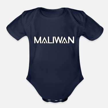 Slag Maliwan logo- Borderlands series - Organic Short Sleeve Baby Bodysuit