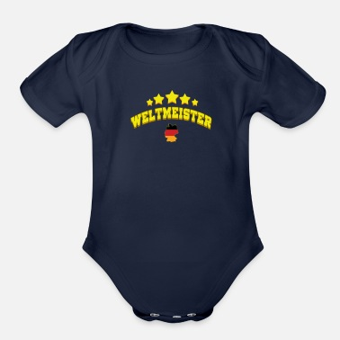 World Champion World Champion - Organic Short-Sleeved Baby Bodysuit
