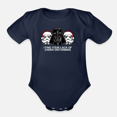 Lack Lack of Cheer - Organic Short-Sleeved Baby Bodysuit