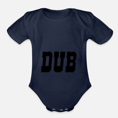 Dub dub - Organic Short-Sleeved Baby Bodysuit