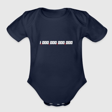Guys Four Comma Club Made It Entrepreneur Member - Organic Short Sleeve Baby Bodysuit
