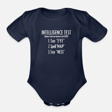 Offensive Offensive Shirt funny - Organic Short-Sleeved Baby Bodysuit