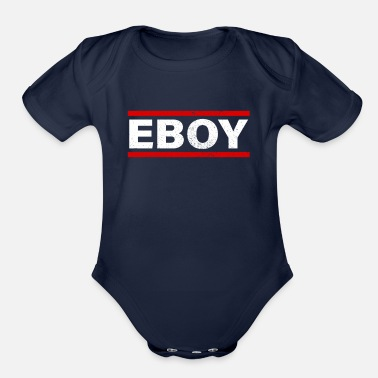Eboy Aesthetic Eboy Clothes for Teen Gift - Organic Short-Sleeved Baby Bodysuit