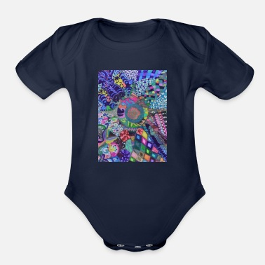 Turn Turning In - Organic Short Sleeve Baby Bodysuit