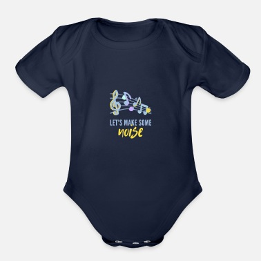 Noise Noise - Organic Short-Sleeved Baby Bodysuit