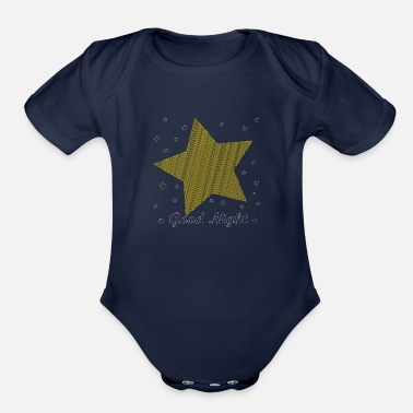 Bed Bed time. - Organic Short Sleeve Baby Bodysuit