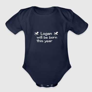 Logan - Organic Short Sleeve Baby Bodysuit