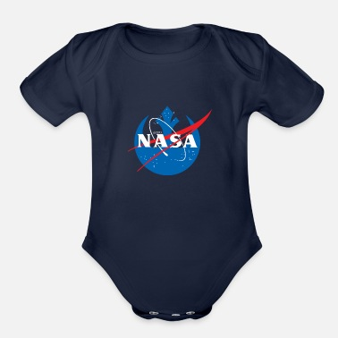 Nasa Rebel - Organic Short Sleeve Baby Bodysuit