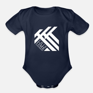 Tomorrow This Time Tomorrow - Organic Short Sleeve Baby Bodysuit