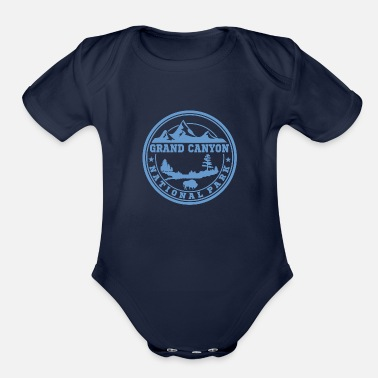 Grand Canyon GRAND CANYON13.png - Organic Short-Sleeved Baby Bodysuit