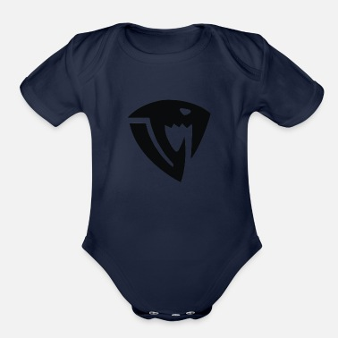 Fairy-tail Fairy Tail Sabertooth symbol - Organic Short-Sleeved Baby Bodysuit