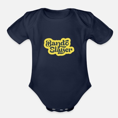 Le Drib BandoSlayer logo - great for drone pilots - Organic Short-Sleeved Baby Bodysuit