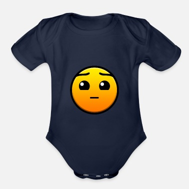 Dash Geometry Dash - Organic Short-Sleeved Baby Bodysuit