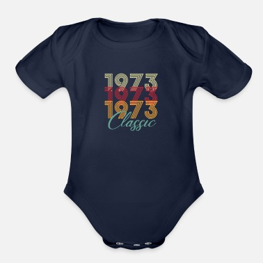 47th Birthday 47th birthday 2020 - Organic Short-Sleeved Baby Bodysuit
