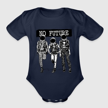 No Future - Organic Short Sleeve Baby Bodysuit