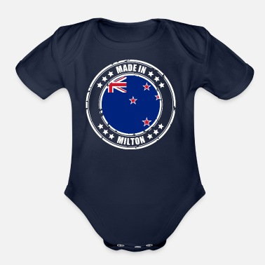 Milton MADE IN MILTON - Organic Short-Sleeved Baby Bodysuit