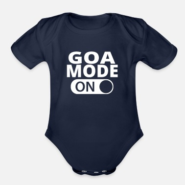 Goa MODE ON GOA - Organic Short Sleeve Baby Bodysuit