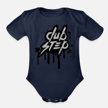 Dubstep Dubstep - Organic Short-Sleeved Baby Bodysuit