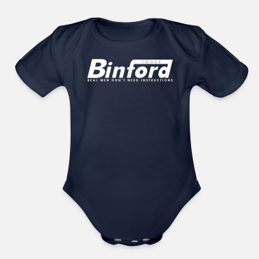 Binford Tools Binford Tools T Shirt Funny Home Improvement Tool - Organic Short-Sleeved Baby Bodysuit