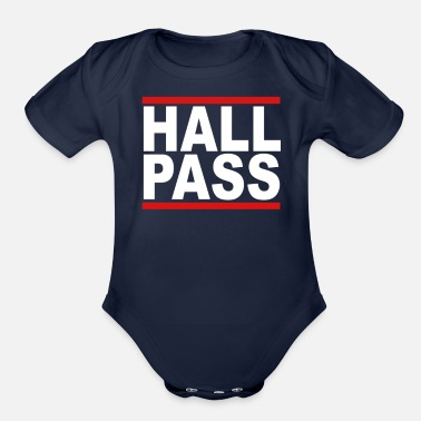 Hall HALL PASS - Organic Short-Sleeved Baby Bodysuit