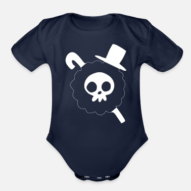 Piece Brook Flag One Piece - Organic Short-Sleeved Baby Bodysuit
