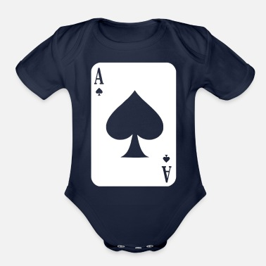 Ace Of Spades Ace Of Spades - Organic Short-Sleeved Baby Bodysuit