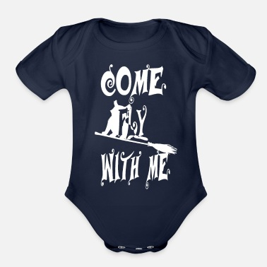 Halloween Toddler Toddlers T-shirt for Halloween by Lindeza Design - Organic Short-Sleeved Baby Bodysuit