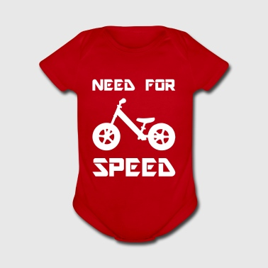 Need for Speed Kids Balance Bike - Short Sleeve Baby Bodysuit
