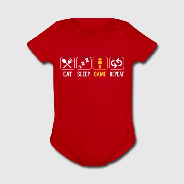 Gaming is live - Short Sleeve Baby Bodysuit