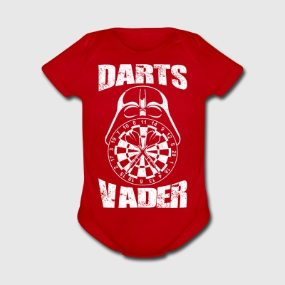 Darts Vader Dart Player I am your father - Short Sleeve Baby Bodysuit