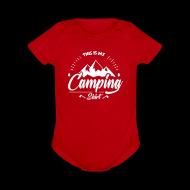 This is my Camping Shirt - Funny camping shirt - Short Sleeve Baby Bodysuit