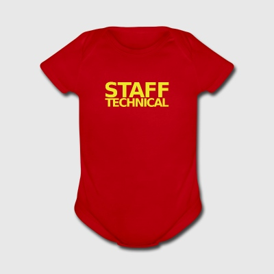 staff tehnical - Short Sleeve Baby Bodysuit