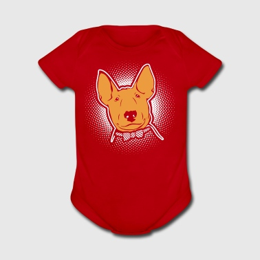 Bull Terrier Shirt - Short Sleeve Baby Bodysuit