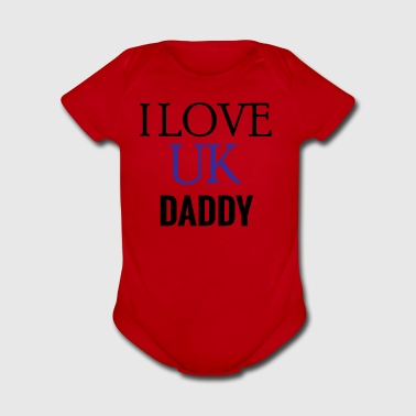 daddy design - Short Sleeve Baby Bodysuit