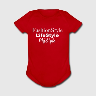 FaschiopStyle - Short Sleeve Baby Bodysuit