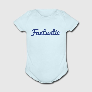 fantastic word ! - Short Sleeve Baby Bodysuit