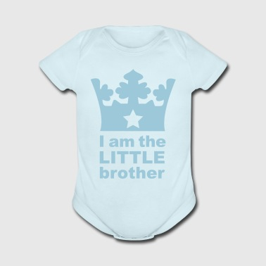 I am the little Brother - Short Sleeve Baby Bodysuit
