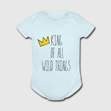 Kind of all Wild Things - Organic Short Sleeve Baby Bodysuit